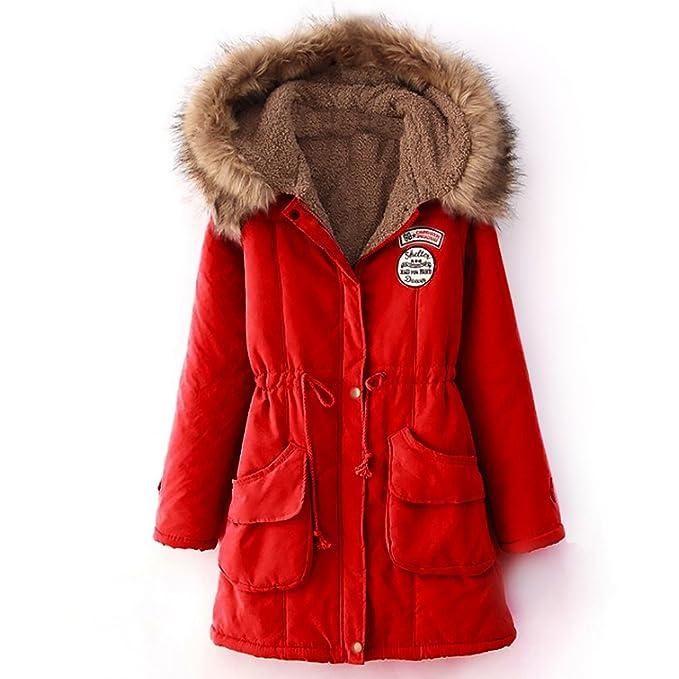 Paris Hill - Abrigo - para Mujer Rojo Rosso Small: Amazon.es: Ropa y accesorios