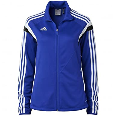 e4925326035 adidas Women's Condivo 14 Training Jacket Ladies Track Top F76943 - Royal  Blue (X-