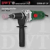 Amoladora recta DWT 600 Watt con regulador