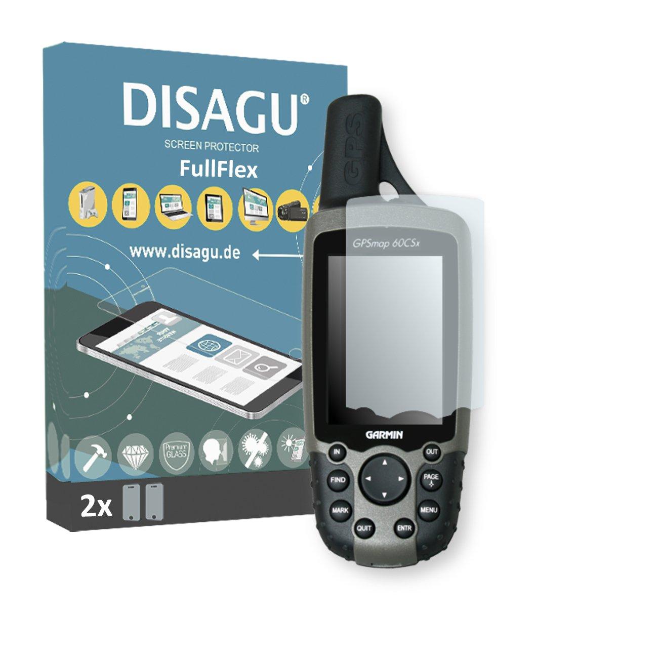 DISAGU Garmin GPSMAP 60 CSX Film de Protection d\'écran - $Foil_anz x FullFlex Film de Protection pour Garmin GPSMAP 60 CSX