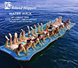 "Island Hopper 20 Foot Water Walk Floating Foam Water Mat"" width=""100"" height="
