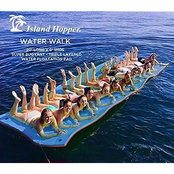 Amazon Com Island Hopper 20 Foot Water Walk Floating Foam