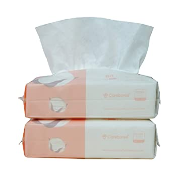 Delivery from USA 3 to 8 Days ,Portable Cleaning Wipes 2 Pack 80PCS Large Wipes 86 Hand Wipes for Skin Cleaning Care and Daily Use