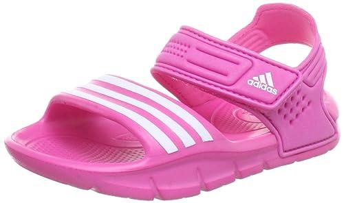 new product 45217 8df5a adidas Akwah 8 Q22613, Sandali unisex bambino, Rosa (Pink (ULTRA PINK S12