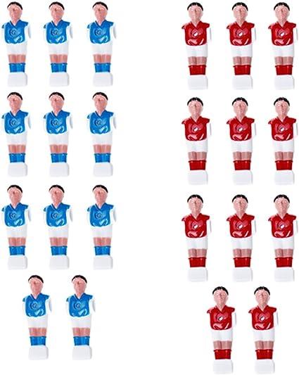 Gazechimp 22 Piezas Futbolín Hombre Mesa Fútbol Hombre Jugador ...