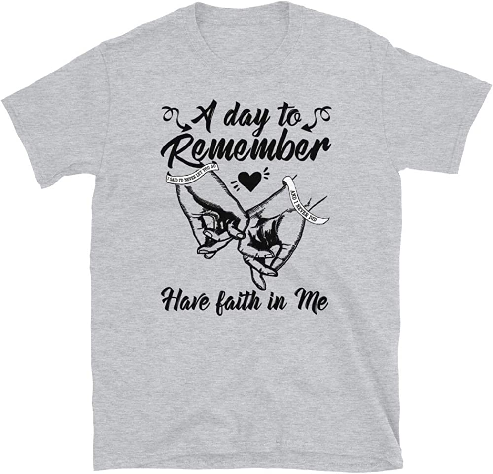 A Day to Remember Have Faith in Me Unisex T-Shirt