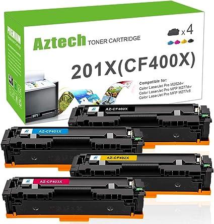 Cyan LD Compatible Toner Cartridge Replacement for HP 201X CF401X High Yield