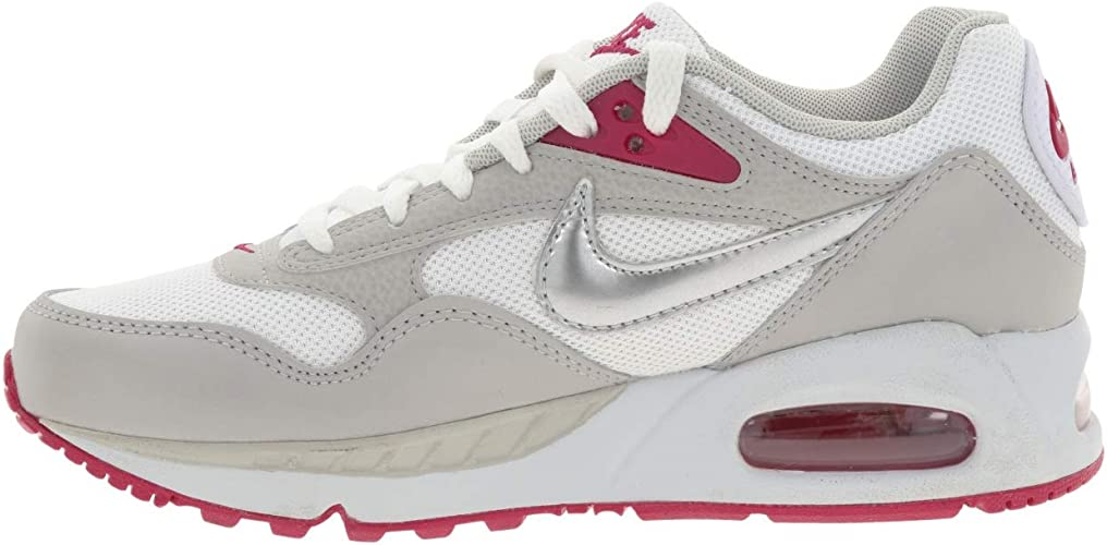 Tumor maligno marcador plátano  Amazon.co.jp: Nike 511417-102 Air Max Correlate W Air Max Correlate  White/Gray/Sport Fuchsia/Metallic Silver - grey: Shoes & Bags