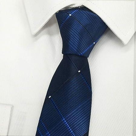YiCan Ropa Formal For Hombres Corbata/Camisa Azul Juvenil Rayas Estudiantes Británicos Corbata Casual Negra Profesional (Color : Blue): Amazon.es: Hogar