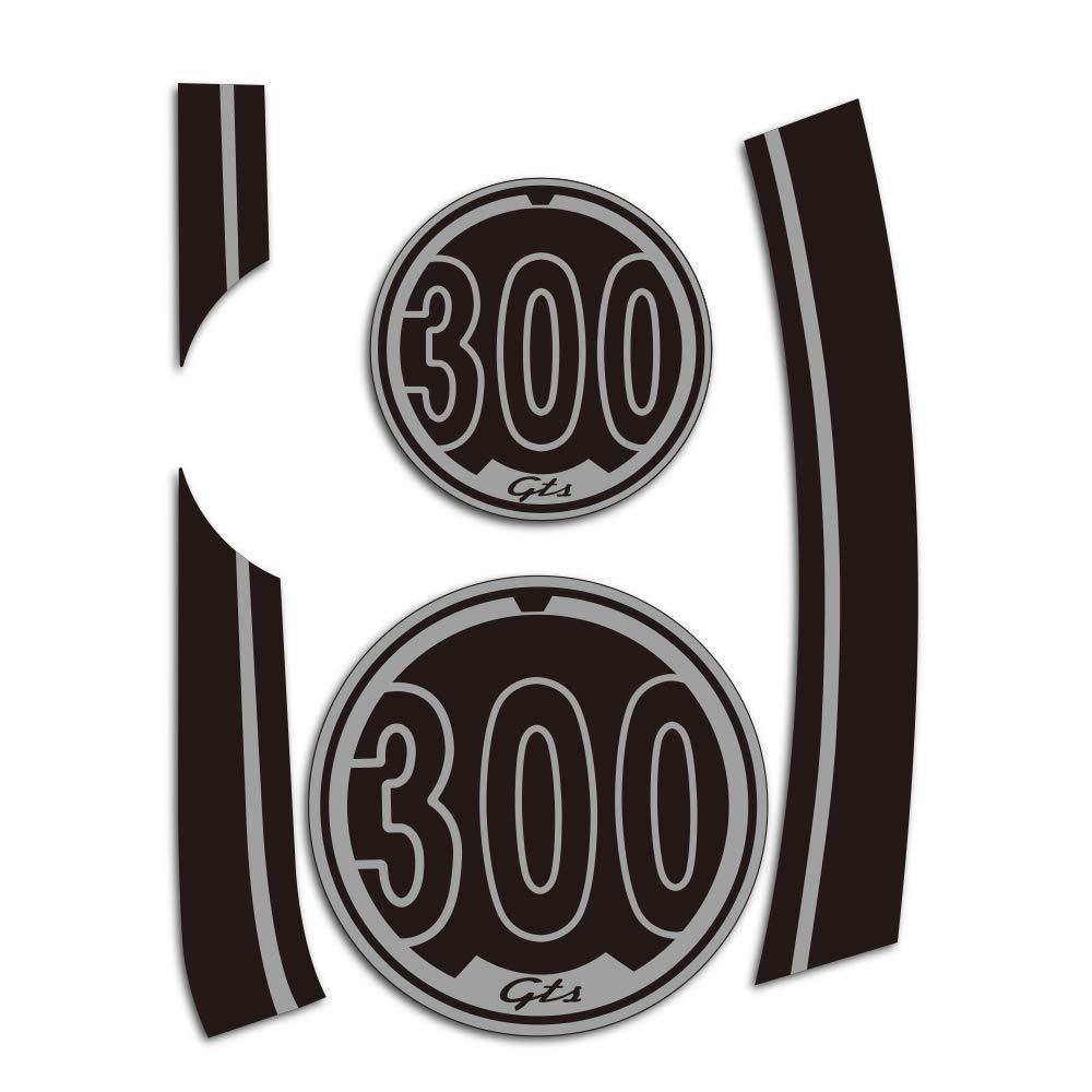 PRO-KODASKIN 2D Decal Sticker Super for Vespa GTS300 Sport Fits gts GTS300 (TB)