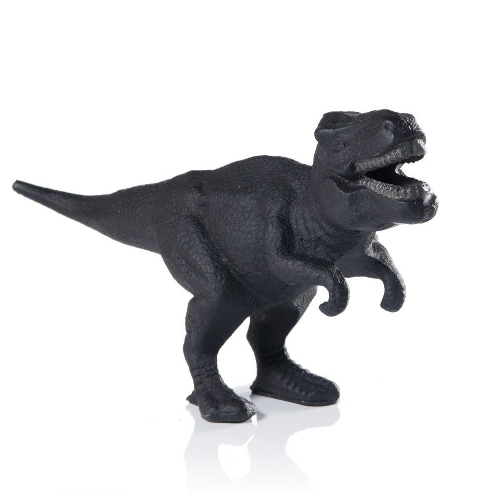SUCK UK SK BODINOSAUR1 CAST IRON DINO BAR ACCESSORIES AND DECOR | NOVELTY T-REX Dinosaur Bottle Opener, 4.72 x 2.36 x 10.24 in, Multicolor by Suck UK