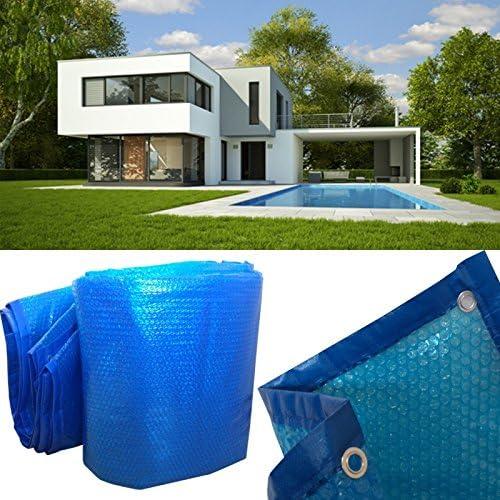 ProBache – Lona de burbujas Solar calefactora para piscina 5 x 8 m ...