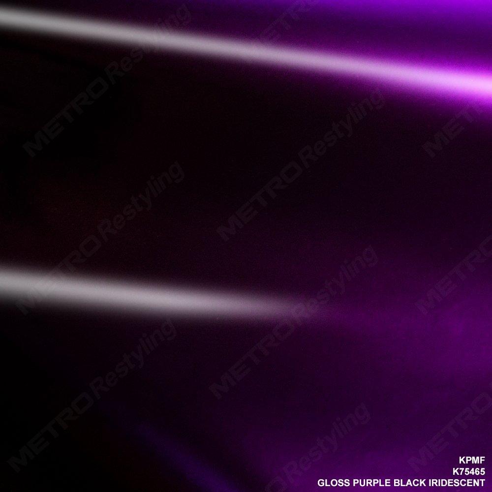Kpmf k75465グロスパープル虹色ブラックビニール車ラップフィルム 5ft x 2ft (10 Sq/ft) パープル K75465 B06X6BC8MJ 5ft x 2ft (10 Sq/ft)  5ft x 2ft (10 Sq/ft)