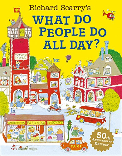 Download Richard Scarry's What Do People Do All Day?. Text fb2 book