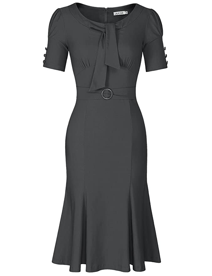 1940s Pinup Dresses for Sale Formal or Casual Party Pencil Dress $32.99 AT vintagedancer.com