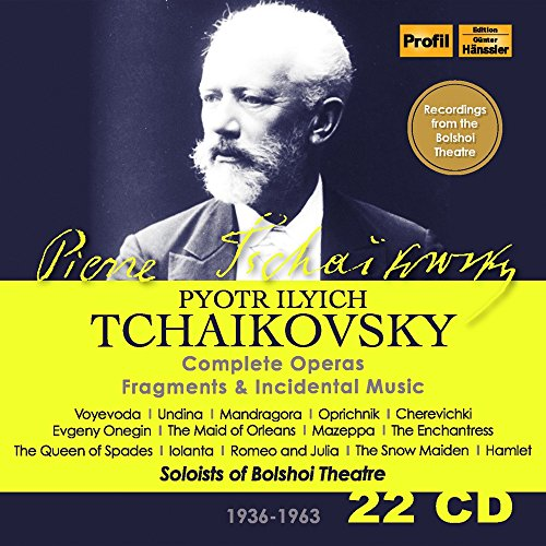 Tchaikovsky: Complete Operas; Fragments & Incidental Music