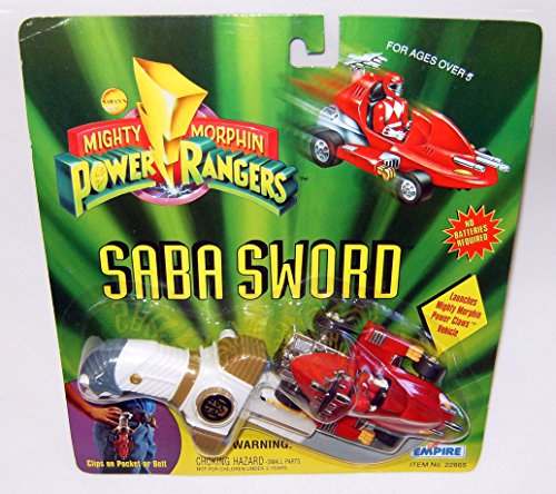 Price comparison product image Power Rangers Saba Sword Red