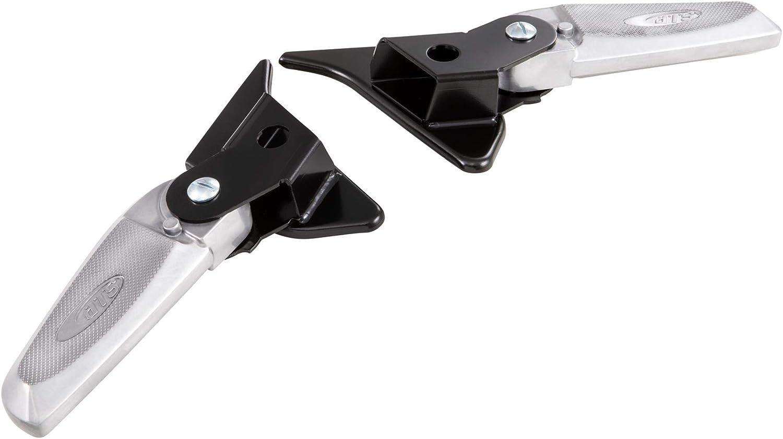 schwarz//Silber Fu/ßrasten SIP f/ür Vespa Prim klappbar avera//Sprint 50-150ccm 2T//4T AC Aluminium