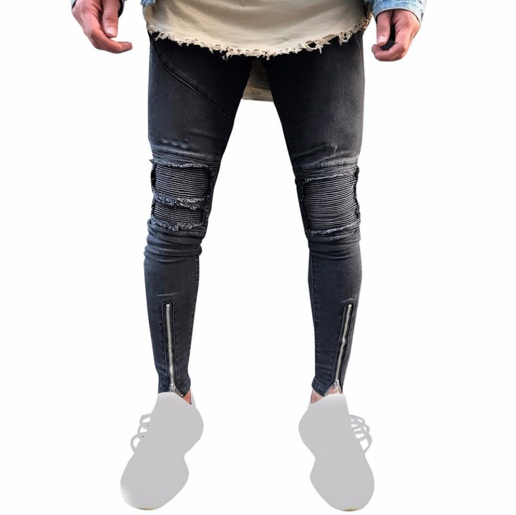 Hombres Pantalones, Manadlian Pantalones Hombre Joggers con gota ocasional pantalones de entrepierna Harem Manadlian_Hombres Pantalones