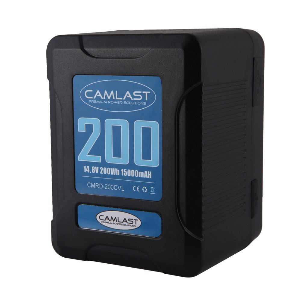 Camlast Compact-Series 200Wh Li-Ion V-Mount Battery