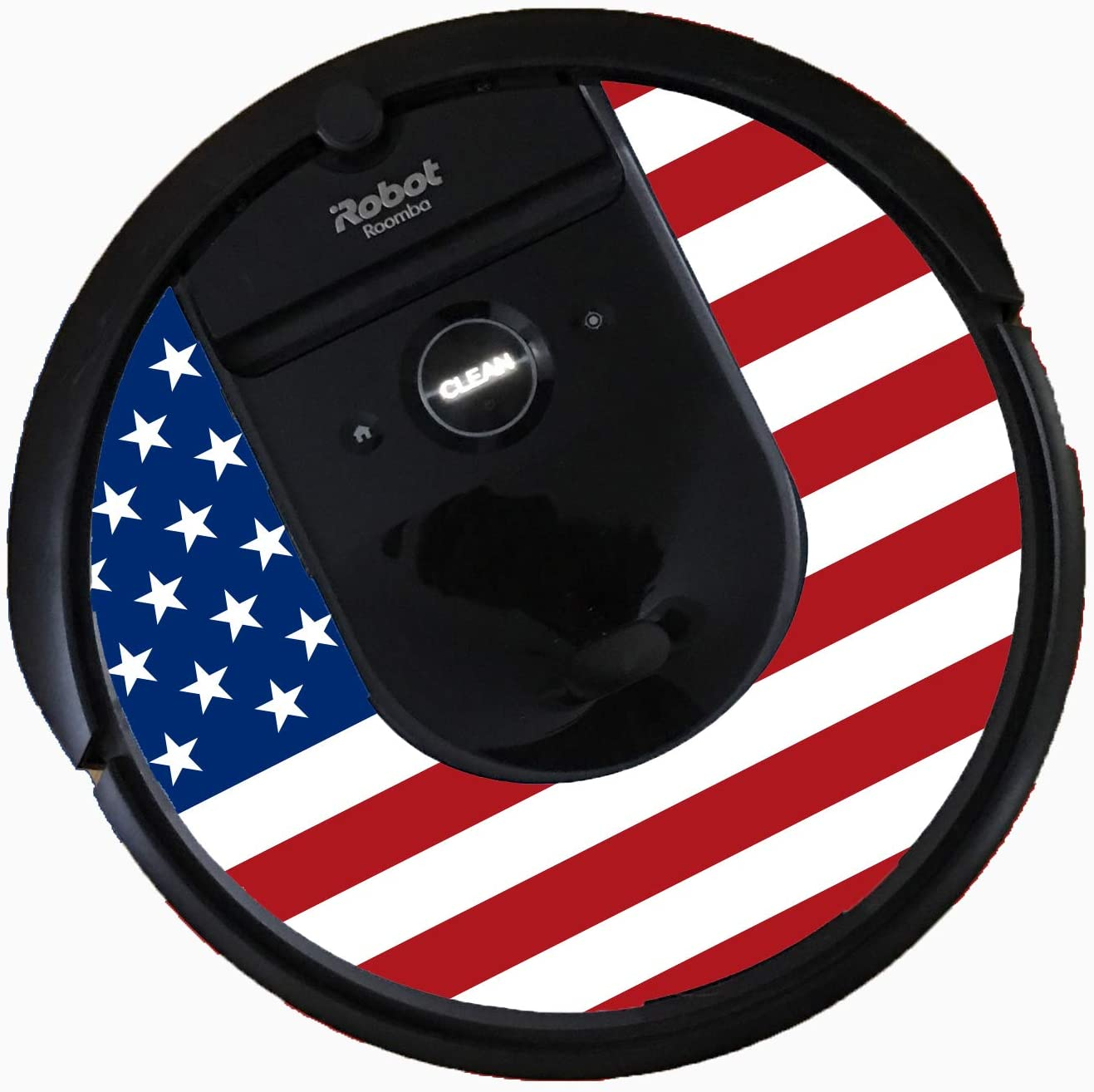 Bling for Roomba i7 Vacuums (American Flag)