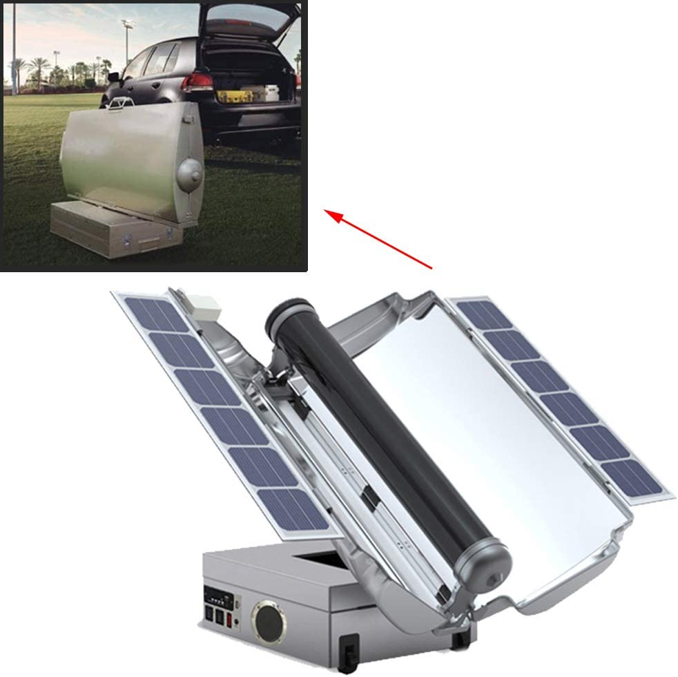 USA Stock Portable Solar BBQ Grill Cooking Oven Stove Fuel Free Outdoor Cooking Camping Solar Cooker Oven SHZICMY Solar Grill