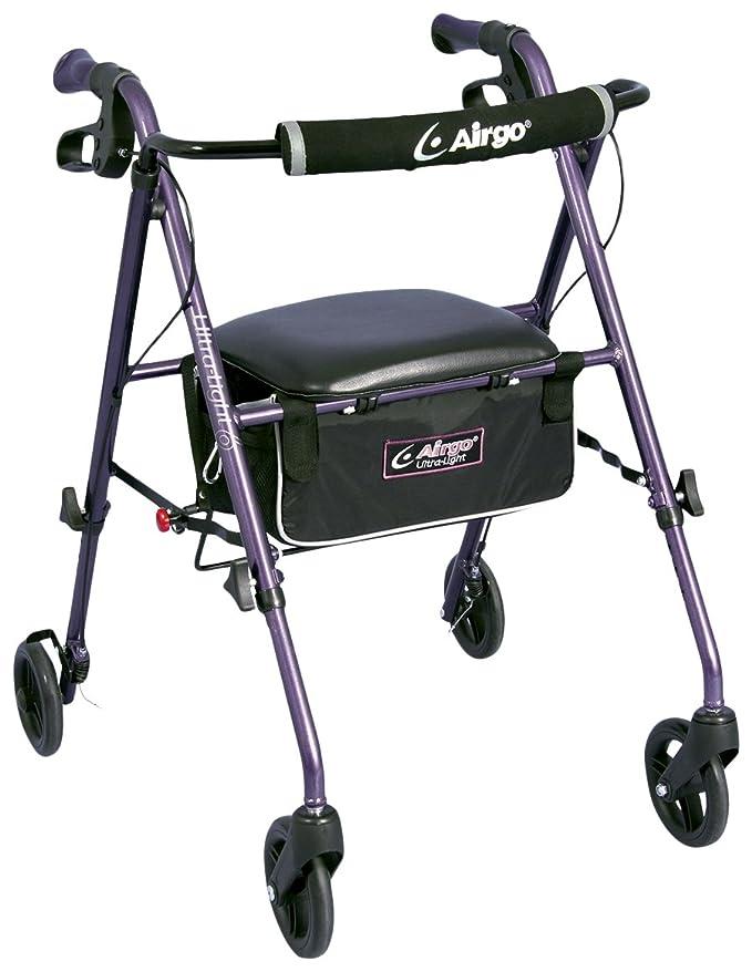 Airgo - Andador plegable con ruedas: Amazon.es: Salud y cuidado ...
