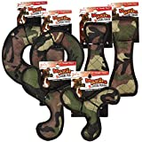 Zanies 12 Piece MegaRuffs Camo Toy Pack, Green For Sale