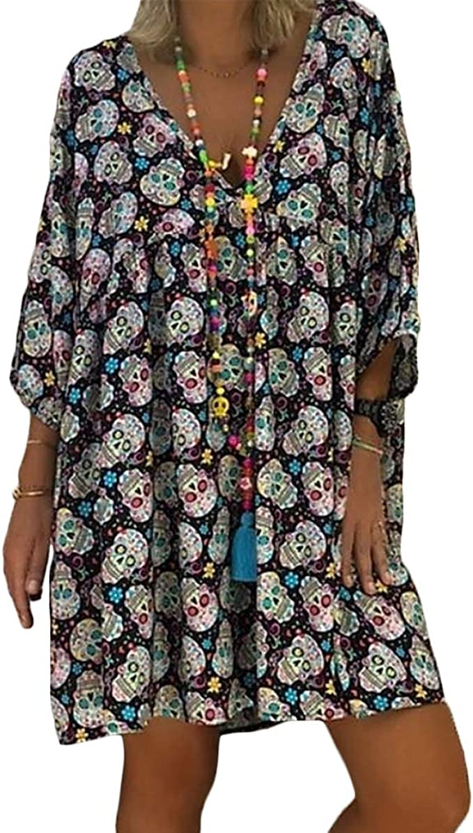 Acheter robe tete de mort online 1