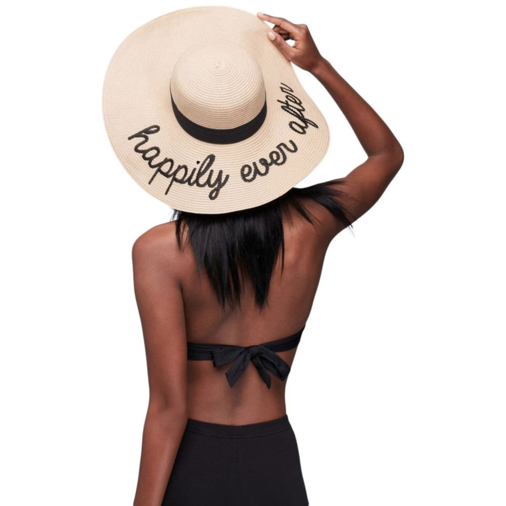 Happily Ever After Sun Hat Style 999DB1001, Black