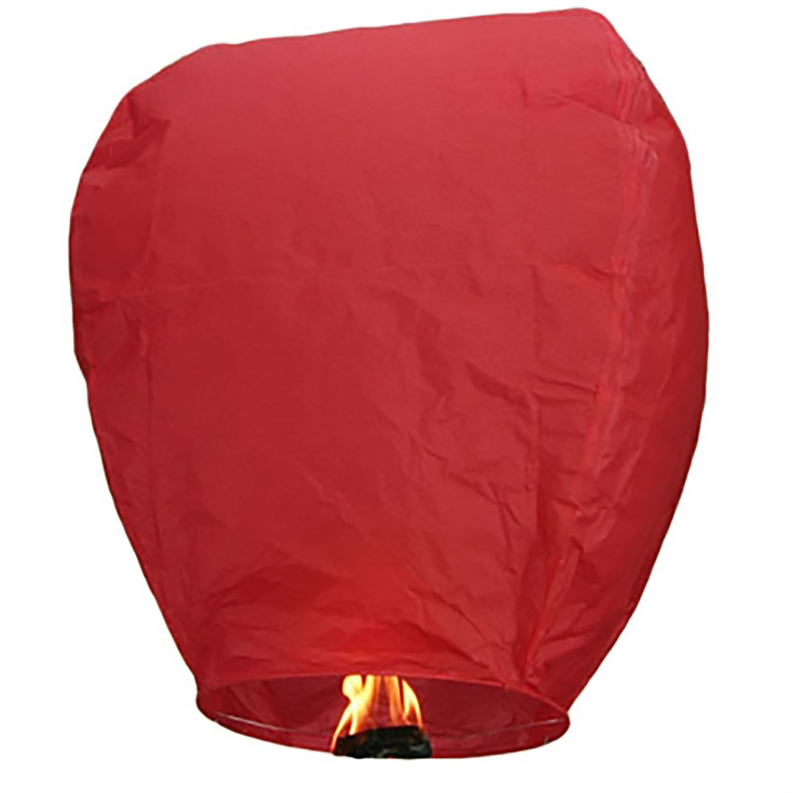 Commercial Bargains 300 Pack Red Paper Chinese Floating Sky Lantern Flying Candle Lamps