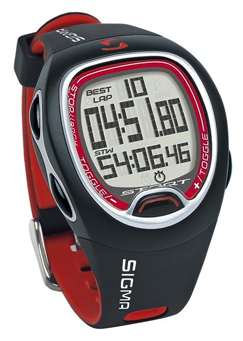 130 opinioni per Sigma SC 6.12 Cronometro, Nero/Rosso