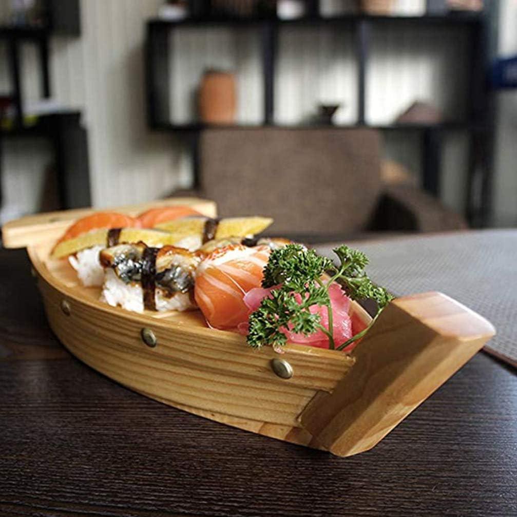 Prato de Sushi Em Forma de Barco