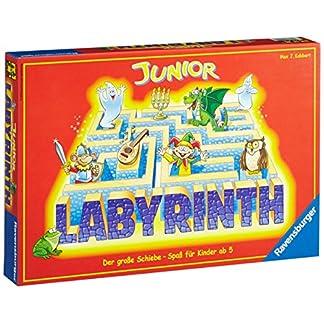 Ravensburger 21210 - Junior Labyrinth - Familienklassiker für die Kleinen, Spiel für Kinder ab 5 Jahren - Gesellschaftspiel geeignet für 2-4 Spieler, Junior-Ausgabe 4