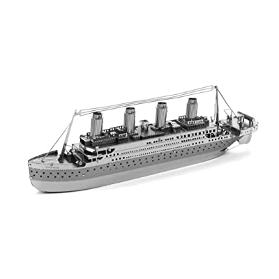 Fascinations Metal Earth Titanic 3D Metal Model Kit: FASCINATIONS: Toys & Games