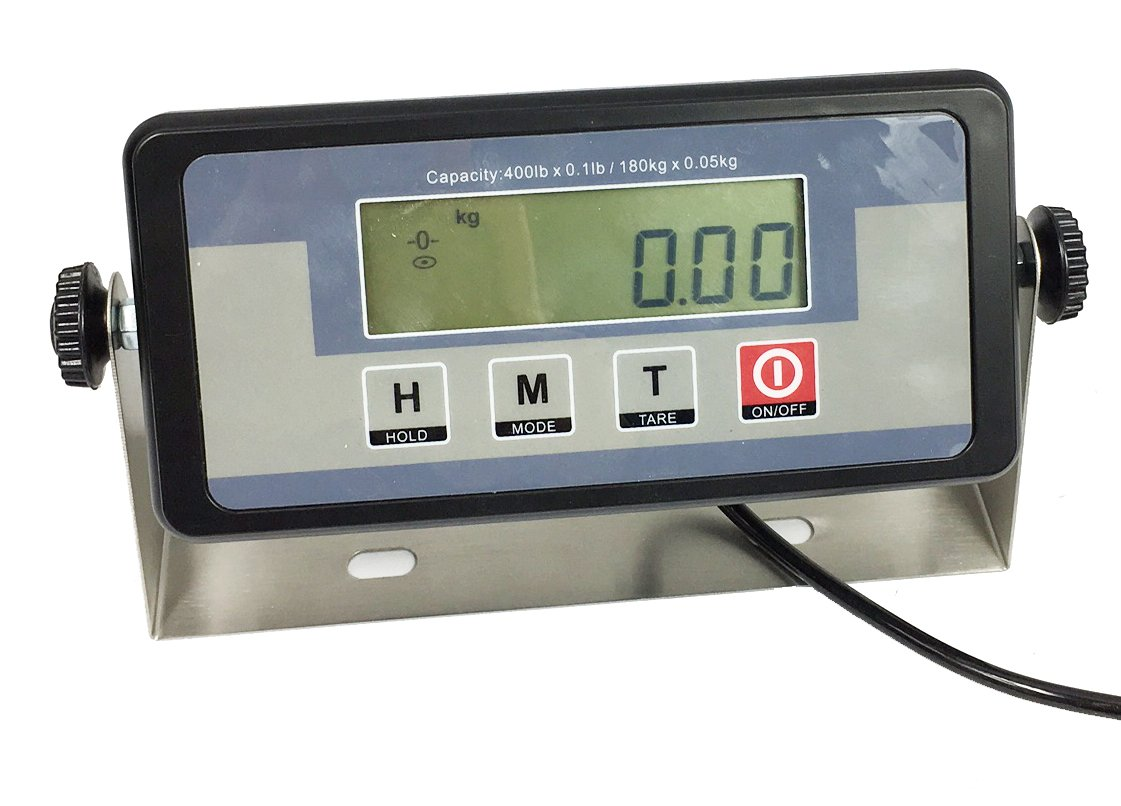 Angel USA 400 Pound Physician Digital Scale Body Weight Doctor Weighing Balance for Office, Home, Gym by ANGEL USA (Image #4)