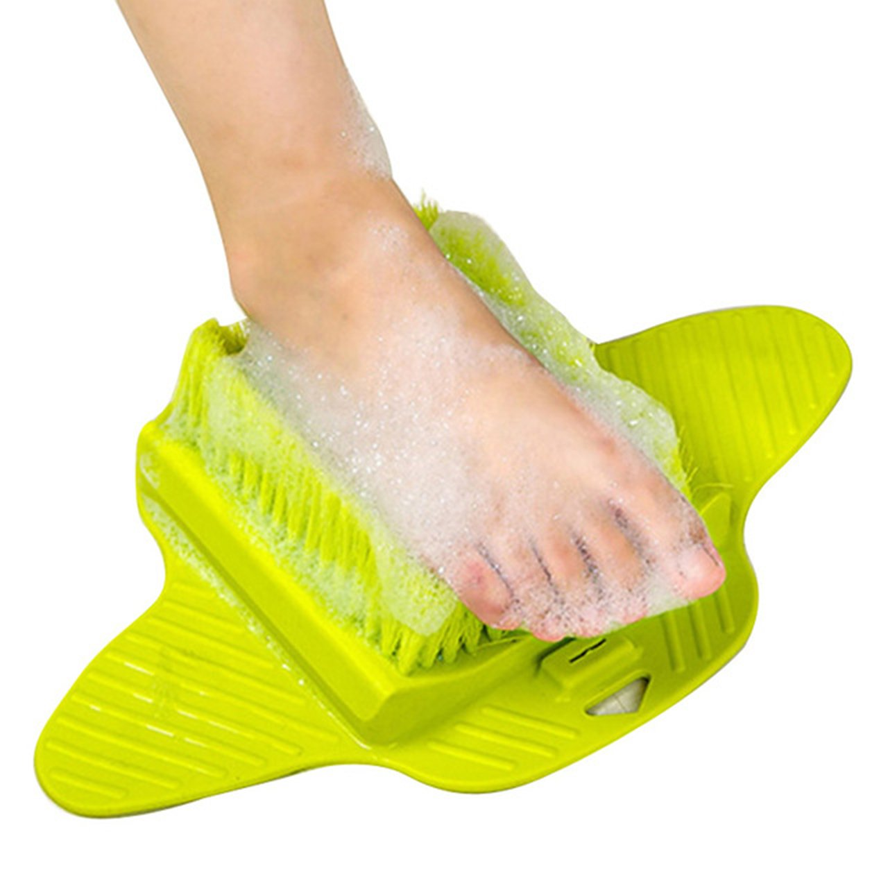 Siomentdi Adult Foot Massage Brush - Bath Blossom Scrub Brushes Foot Cleaner Exfoliating Feet Scrubber Spa Shower Remove Dead Skin Cleaning