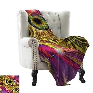 Amazon.com: BelleAckerman - Manta de piel sintética, diseño ...