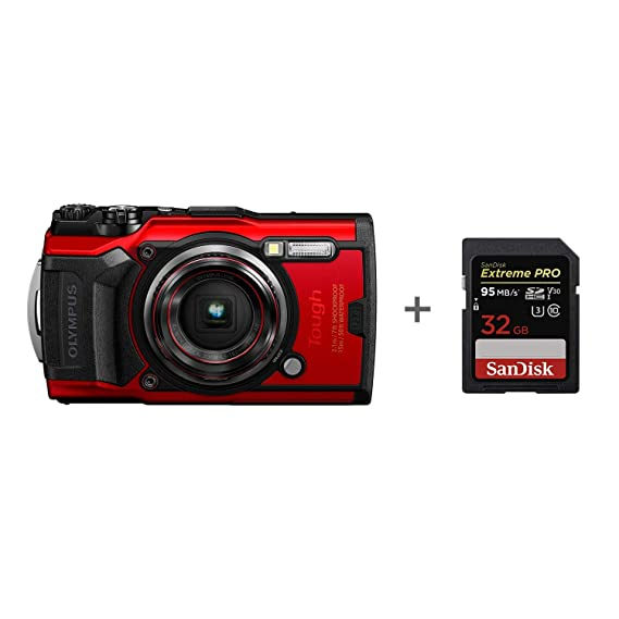 Olympus TG-6 Tough Camera - Tarjeta de Memoria (32 GB ...