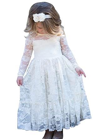 Babyonline Babyonline Prinzessin Kleid mädchen Spitze Mädchen ...