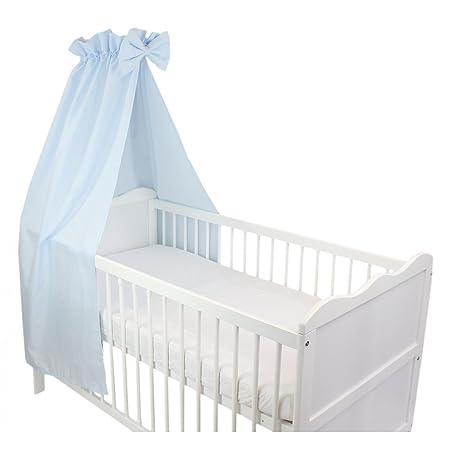 Tuptam Babybett Himmel Mit Schleifchen Farbe Blau Grosse Ca