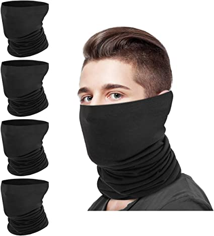 UPF 50 Neck Gaiter Bandana Scarf UV Protection Balaclava Headband for Women Men
