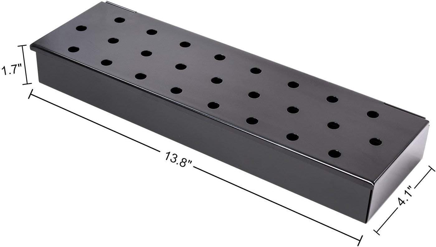 Charcoal Companion Gasgrill V-R/äucherbox CC4066 stahl 6,35 x 35,05 x 11,94 cm