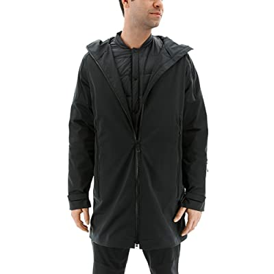 Adidas Sport Performance Men's Zne Parka Jacket, Black, M