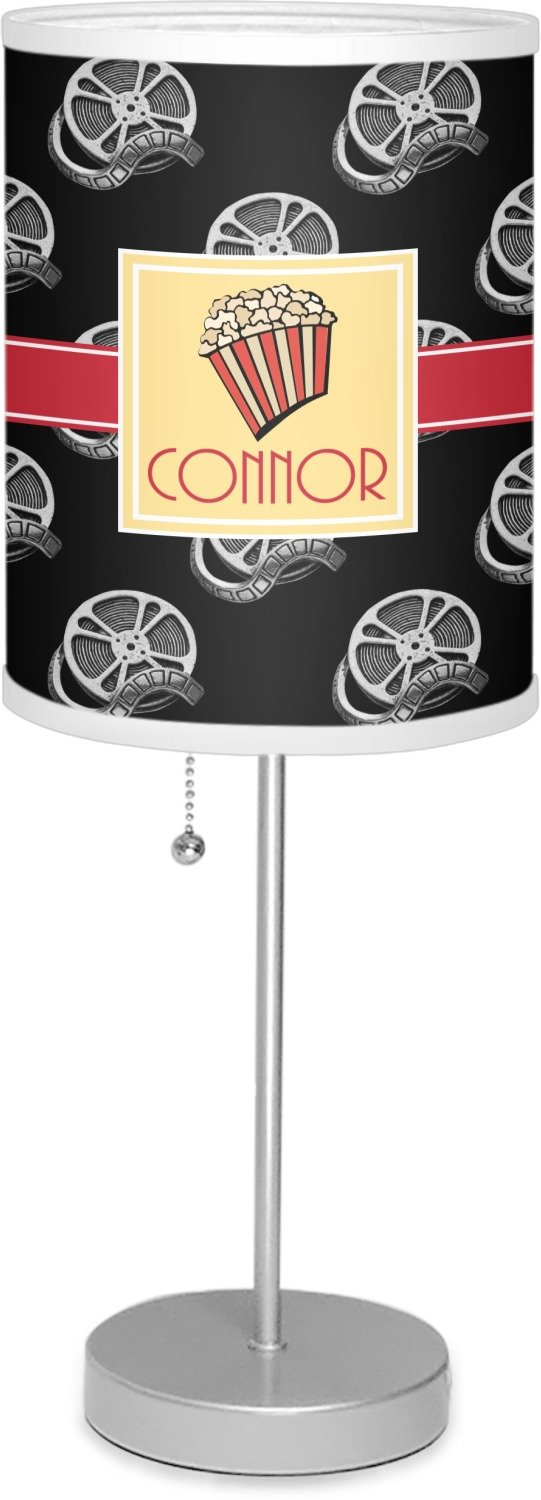 RNK Shops Movie Theater 7'' Drum Lamp with Shade Polyester (Personalized)