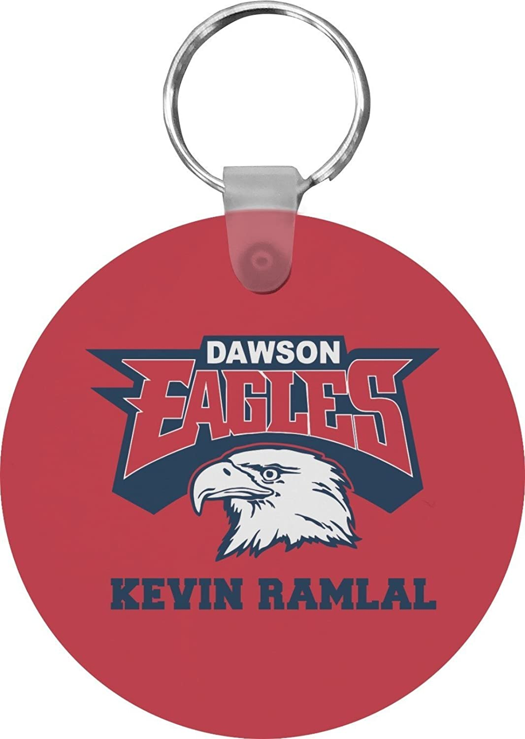 DHS Logo Round Keychain (Personalized)