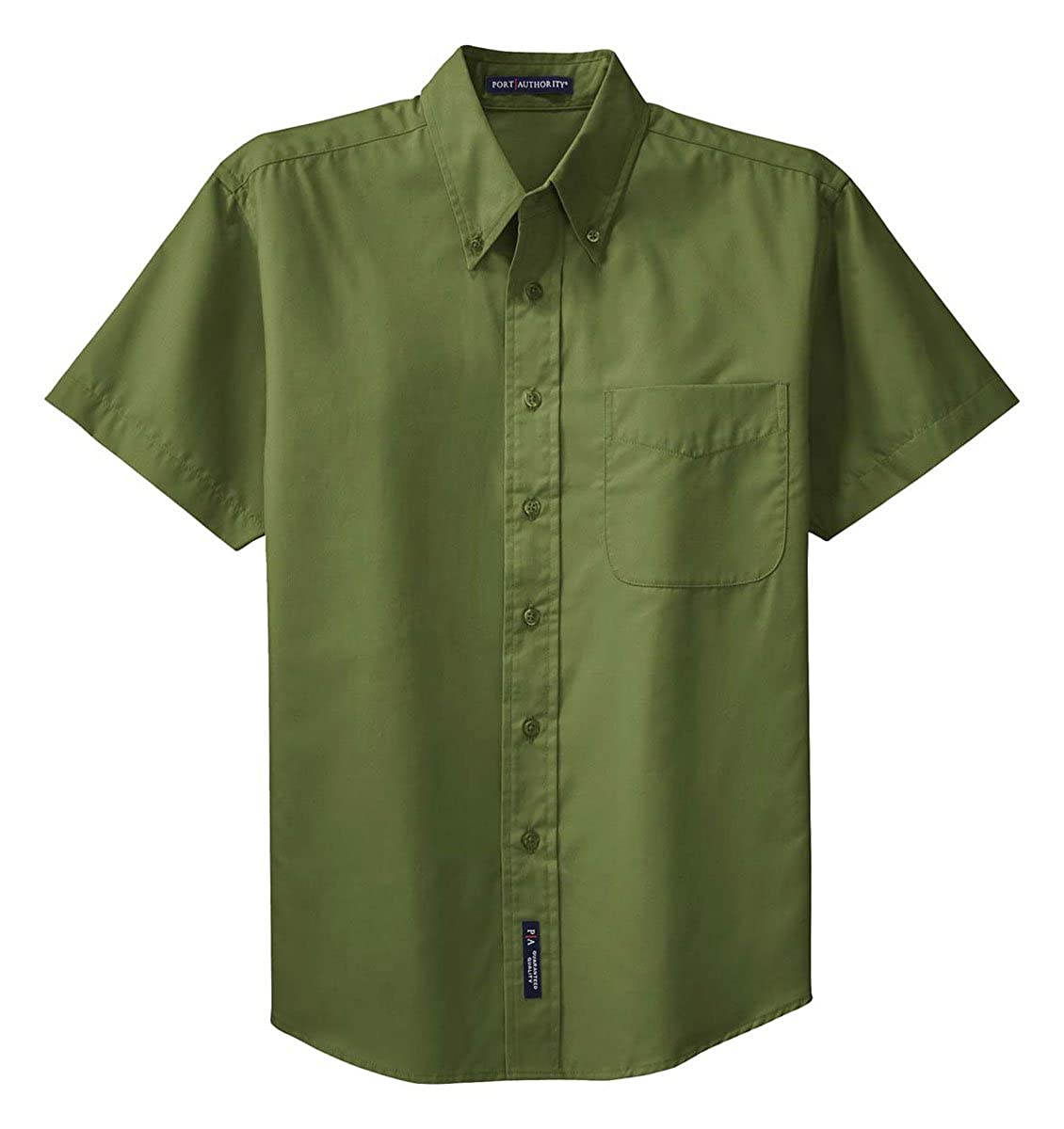 Port Authority Mens Button-Down Collar Short Sleeve Shirt