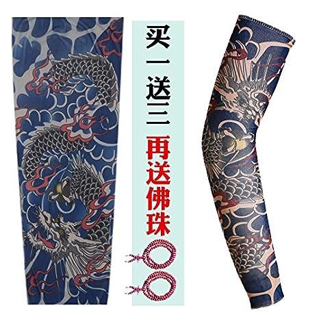LPPKZQ-Mangas Tatuajes Tatuajes flores mangas brazo llevó a ...