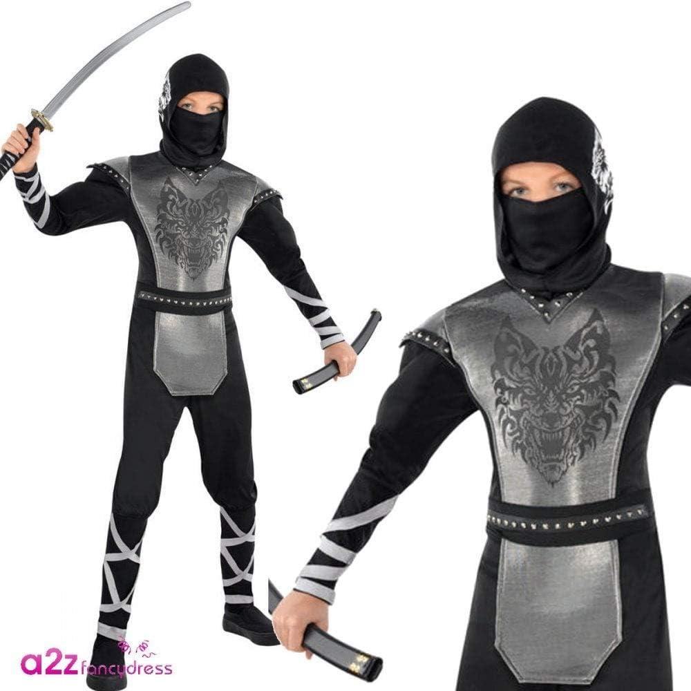 amscan International - Disfraz de Ninja de Lobo Aullando para ...