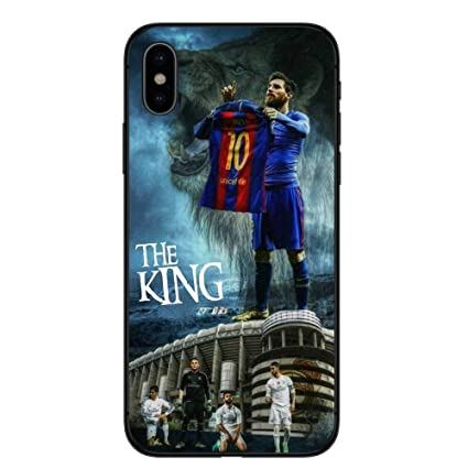 de9ce572f iPhone X Xs Case. Barcelona Messi Soft Silicone Phone Case for iPhone X